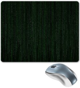 "Коврик для мышки ""Матрица"" - матрица, код, hacking, the matrix"