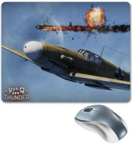 "Коврик для мышки ""War Thunder"" - war, техника, самолёт, thunder"