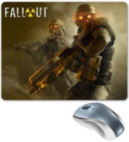 "Коврик для мышки ""Fallout game"" - games, игра, постапокалипсис, fallout, фаллаут"
