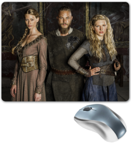 "Коврик для мышки ""Викинги"" - викинги, путь воина, сериал викинги, vikings"