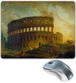 """Коврик для мышки """"Колизей"""" - арт, италия, рим, колизей, абстракционизм"""