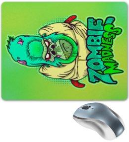 """Коврик для мышки """"Zombie Madness"""" - арт, zombie, зомби, обезьяна, горилла"""