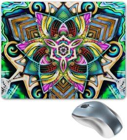 """Коврик для мышки """"Mandala HD 4"""" - узор, ретро, классика, этно, симметрия"""
