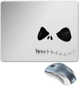 """Коврик для мышки """"Джек Скеллингтон"""" - праздник, хэллоуин, скелет, интересная, необычная"""