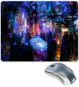 """Коврик для мышки """"Краски"""" - игры, компьютерные игры, краски, люди, цветомузыка"""