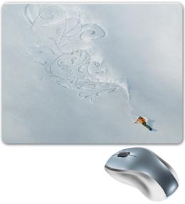 "Коврик для мышки ""snowboard time"" - горы, сноуборд, экстрим, каталка"