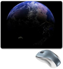 """Коврик для мышки """"Земля"""" - вселенная, космос, наука, the spaceway, space"""