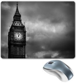 """Коврик для мышки """"Big Ben"""" - лондон, англия, big ben"""