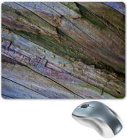 """Коврик для мышки """"Текстура старого дерева"""" - дерево, текстура, фактура, алина макарова"""