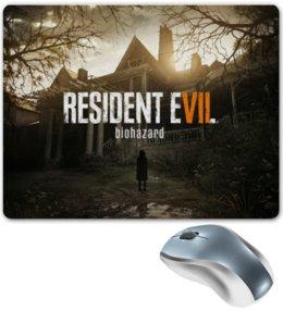 "Коврик для мышки ""Resident Evil 7"" - evil, resident evil, biohazard, re7"