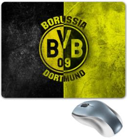 """Коврик для мышки """"Borussia Dortmund"""" - футбол, популярные, в подарок, оригинально, боруссия"""