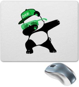 "Коврик для мышки ""Dab Panda "" - животные, панда, panda, дэб, dab"