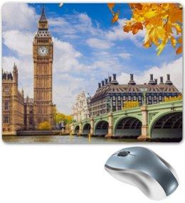"Коврик для мышки ""Лондон"" - london, города, лондон, англия, uk, биг бен, big ben"