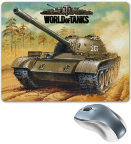 "Коврик для мышки ""World of Tanks "" - games, игры, игра, game, world of tanks, танки, wot, tanks, video games"