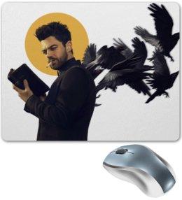 """Коврик для мышки """"Пастырь"""" - комиксы, dc comics, preacher, проповедник"""