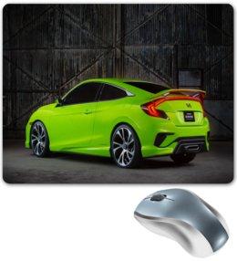 """Коврик для мышки """"Хонда"""" - авто, скорость, автомобили, машины, хонда"""