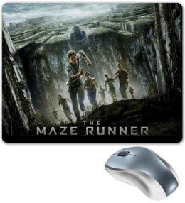 """Коврик для мышки """"Бегущий в лабиринте / The Maze Runner"""" - кино, фэнтэзи, бегущий в лабиринте"""