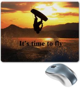 """Коврик для мышки """"Wakeboard"""" - полет, fly, экстрим, extreme, board, ride, каталка, wakeboard, вейк, вейкборд"""