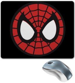 """Коврик для мышки """"Spider-man / Человек-паук"""" - человек-паук, spider-man, мультфильм, комиксы, фильм"""