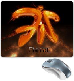 """Коврик для мышки """"Fnatic"""" - арт, рисунок, парню, dota2, csgo"""