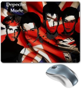 "Коврик для мышки ""Depeche Mode"" - music, англия, depeche mode, электронная музыка, музыкальная группа"