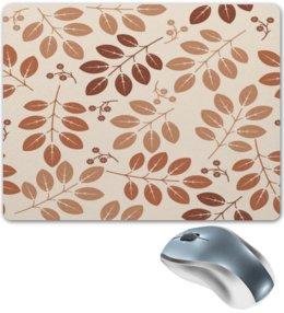 """Коврик для мышки """"Осенние листы"""" - цветы, листья, осень, деревья, природа"""