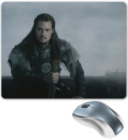 "Коврик для мышки ""Последнее королевство / The Last Kingdom"" - кино, сериал, викинги, последнее королевство"