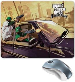 """Коврик для мышки """"GTA 5"""" - gta, игры"""