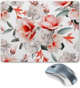 """Коврик для мышки """"Цветы"""" - цветы"""