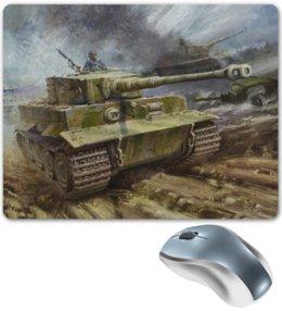 """Коврик для мышки """"Tiger  """" - тигр, world of tanks, танки, wot, tanks, ворд оф танкс"""