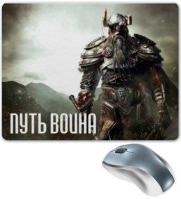 """Коврик для мышки """"Путь воина"""" - викинги, путь воина, с викингами, vikings, история"""