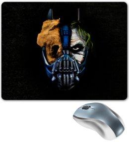 """Коврик для мышки """"Джокер (Бэтмен)"""" - batman, джокер, бэтмен, mortal kombat, темный рыцарь"""