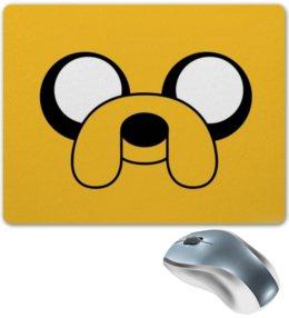 "Коврик для мышки ""Adventure Time"" - пёс, adventure time, время приключений, джейк"