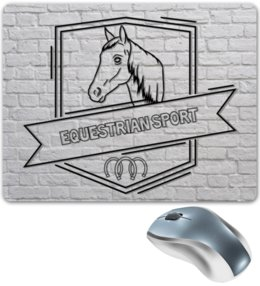 """Коврик для мышки """"Equestrian sport"""" - арт, лошадь, конный спорт, equestrian"""