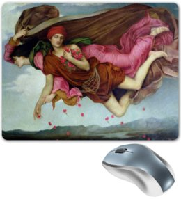 "Коврик для мышки ""Ночь и сон (Эвелин де Морган)"" - картина, морган"