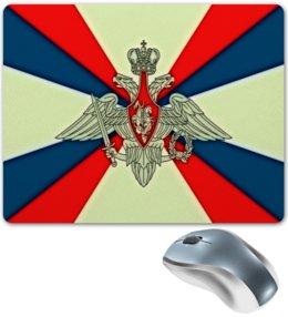 "Коврик для мышки ""Герб РФ"" - россия, герб, флаг, рф, георгий победоносец"