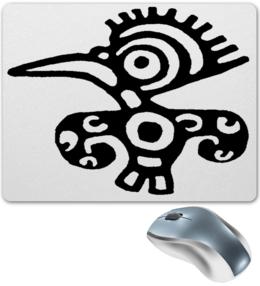 "Коврик для мышки ""-STAMP-BIRD - M-"" - птица, графика, птичка, bird"