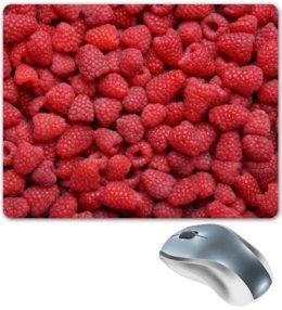 "Коврик для мышки ""Малина"" - ягоды, малины, ruspberry"