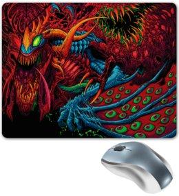 """Коврик для мышки """"Компьютерные игры"""" - игры, монстр, компьютерные игры, краски, оружие"""
