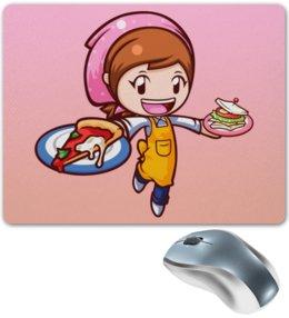 """Коврик для мышки """"Кукинг мама"""" - кукинг, кукинг мама, cooking mama"""