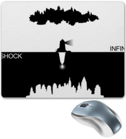 "Коврик для мышки ""Биошок"" - биошок, bioshock, восторг, колумбия, bioshock infinite"