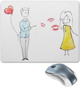 """Коврик для мышки """"Любовь"""" - любовь, 14 февраля, пара"""