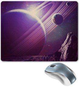 """Коврик для мышки """"Космос 2100"""" - space, планета, космос, cosmos, космонавт"""