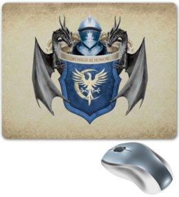 "Коврик для мышки ""Аренн"" - арт, герб, игра престолов, аренны"