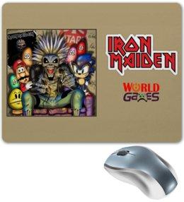 """Коврик для мышки """"Iron Maiden """" - heavy metal, рок музыка, рок группа, iron maiden, айрон мэйден"""