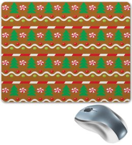 """Коврик для мышки """"Елочка"""" - конфеты, новый год, елка, ель, елочка"""