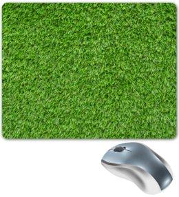 "Коврик для мышки ""Травка"" - весна, лес, зеленый, травка, трава"