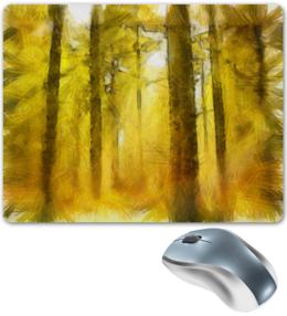 """Коврик для мышки """"Лесная сказка"""" - лето, рисунок, лес, природа"""