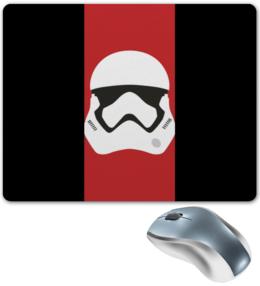 """Коврик для мышки """"Star Wars stormrooper/Звездные Войны Штурмовик"""" - звездные войны, starwars, дарт вейдер, клон, штурмовик"""