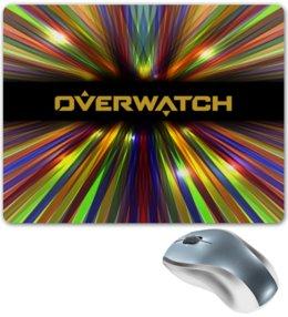 """Коврик для мышки """"Overwatch"""" - игры, компьютерные игры, дозор, overwatch, овервотч"""